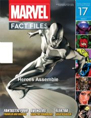 Marvel Fact Files #17 Eaglemoss Publications